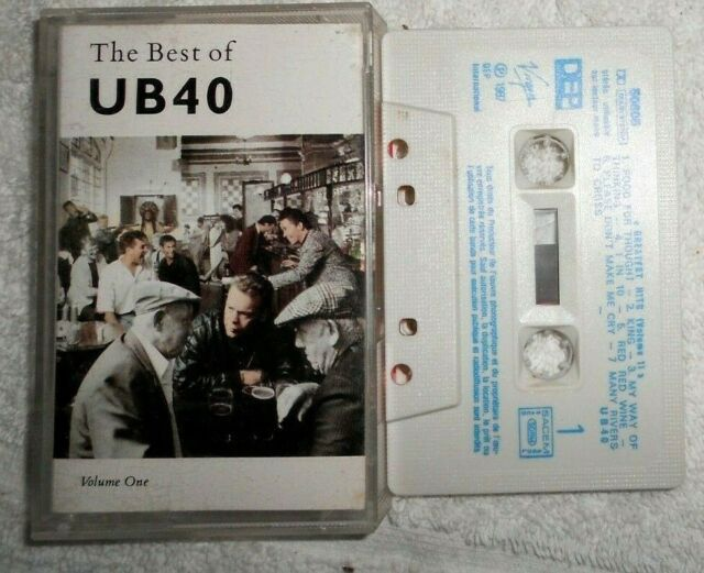 "UB40  ""The Best Of - Volume One"" K7 audio TBE"