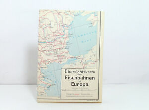 Outline Map Of Inset Country Map Der Eisenbahnen IN Europe 1976
