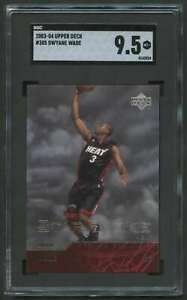 2003-04-UPPER-DECK-STAR-ROOKIE-DWYANE-WADE-RC-SGC-9-5