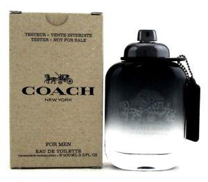 Coach-New-York-Cologne-for-Men-3-3-oz-Eau-de-Toilette-Spray-Never-used-Tester