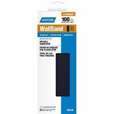 Norton A412 Wallsand Die Cut Drywall Paper Sheet 11 Length X 4 316 Width