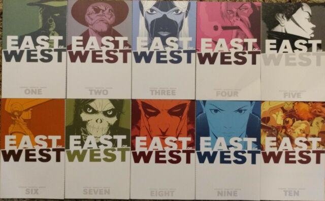 EAST OF WEST VOL 1 2 3 4 5 6 7 8 9  /& 10 TPB SET