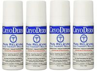 Cryoderm 3 Oz. Roll-on 4-pack (brand Exp 11/2019)