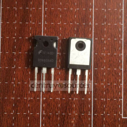 5PCS TO-247 HGTG30N60A4D G30N60A4D 30N60A4D Transistor