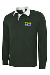 SOUTH-AFRICA-FLAG-LONG-SLEEVE-RUGBY-SHIRTS-BOTTLE-GREEN-RUGBY-SHIRT
