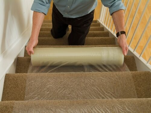 Carpet Protection Film Self Adhesive Stair Floor Protector