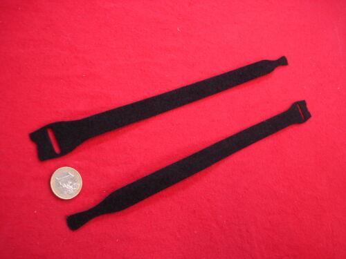 50 x Straps 25 x 300 mm schwarz Kabelbinder Kabelklett STAPELFIX !