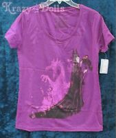 Disney Maleficent Film Collection Tee Shirt Womens Size Small With Tags