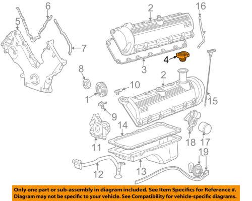 FORD OEM-Engine Oil Filler Cap F3AZ6766B