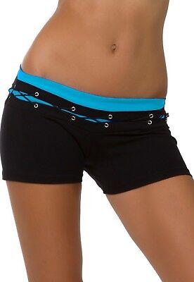 Athletic Photoshoot Shorts Micro Mini Bootie Brazilian Compression Supplex