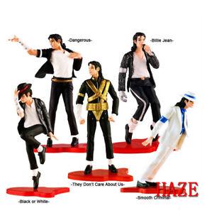 5pcs-King-of-Foreve-MJ-Michael-Jackson-Action-Figure-Modell-Spielzeug