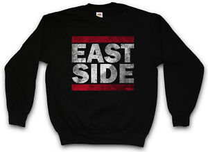 Usa Eastside East Westside Side con Estados Coast capucha Sudadera Unidos Fun RP6qwBxU