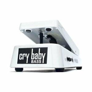 Charmant Dunlop Crybaby Bass Blanc 105q Cry Baby Bass Wah Pédale D'effets-afficher Le Titre D'origine Peut êTre à Plusieurs Reprises Replié.