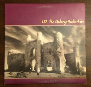 U2-The-Unforgettable-Fire-LP-Vinyl-Record-Album-1984-90231-1-Wax-R-154515-Island