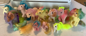My Little Pony Vintage G1 Lot of 13 Plus Accessories
