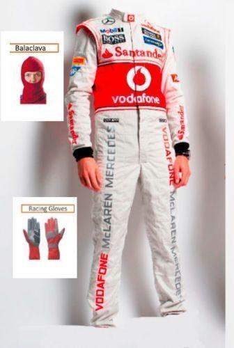 Vodafone McLaren 2013 Kart race suit CIK FIA Level 2 (Free gifts)