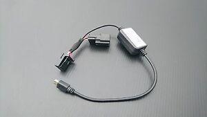MIT TOYOTA TACOMA 2016-18 DVR Camera Video Recorder power cable adapter-mini USB