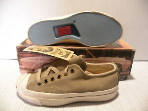 aa75e734d5b0 CONVERSE JACK PURCELL VINTAGE MADE IN USA MEN WOMEN SZ 3 5 SHOES ...