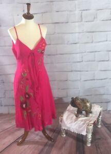 Sue-Wong-Embroidered-Silk-Dress-Cute-Casual-Women-s-14-E02