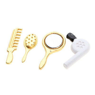 Dollhouse Miniature 1:12 Scale Bedroom Hairdressers Accessory Hair Dryer