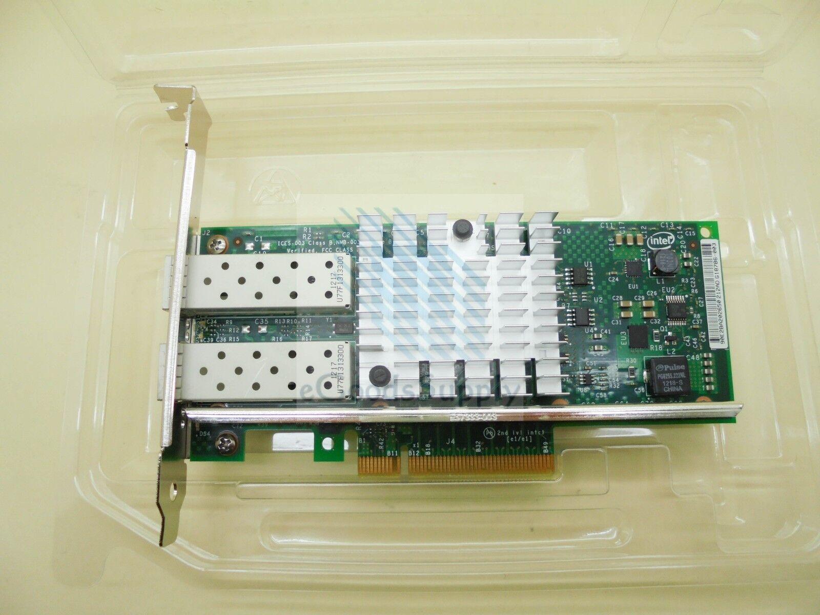 Dell VFVGR Dual Port 10Gb/s PCI-E x8 Network Adapter