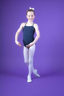"""tanzmuster Kinder Träger Ballettanzug /""""Leonie/"""" hellblau Ballett Trikot Body"""