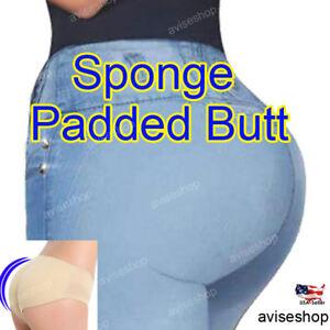 Butt Enhancer Panties Push Up Seamless Underwear Shape Lifter Briefs Hip Up Pad