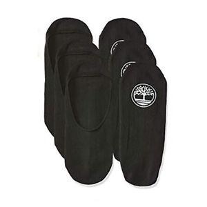 Timberland Men's Black Boat Shoe Liner Socks (3-Pack) A1EB8