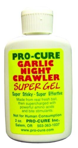 Pro Cure G2-gnt Garlic Night Crawler Super GEL Attractant 2oz