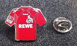 1 FC Köln Pin Fußball Trikot 2010-2011 Home REWE Bundesliga Patch
