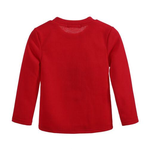 Boys Pyjamas PJs Set Long Sleeve Reindeer Top /& Trousers Kids Pajamas Sleepwear