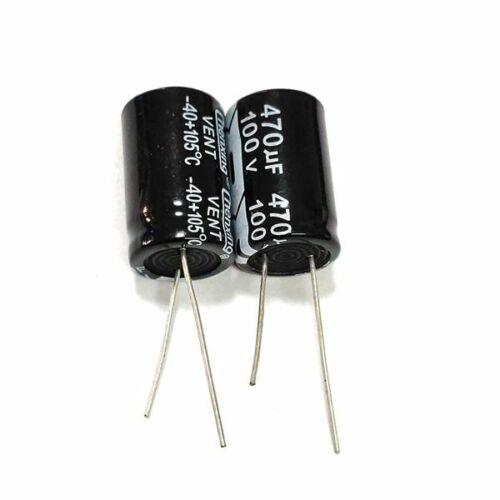 100v 16values electrolytic capacitor 4.7uf~4700uf