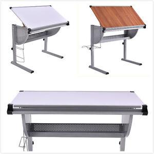 table dessin inclinable table de r daction hauteur et angle r glable bureau ebay. Black Bedroom Furniture Sets. Home Design Ideas