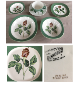 VINTAGE Taylor Smith Taylor Dinnerware  KING O'DELL Jack In Pulpit 39-PC  1950s