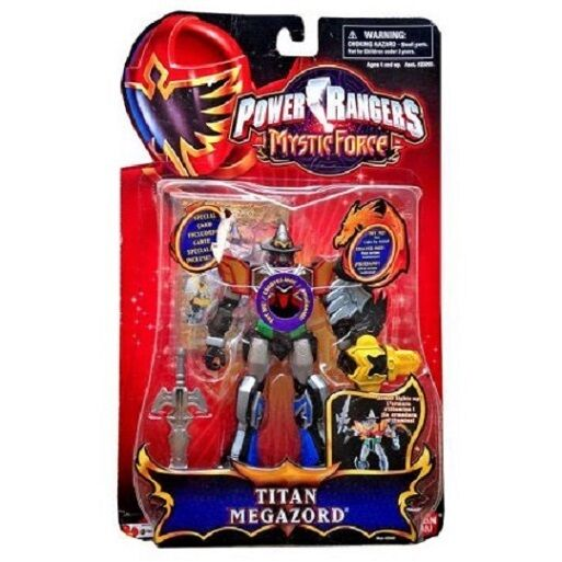 Power Rangers Mystic Force Mystic Titan Megazord New 5