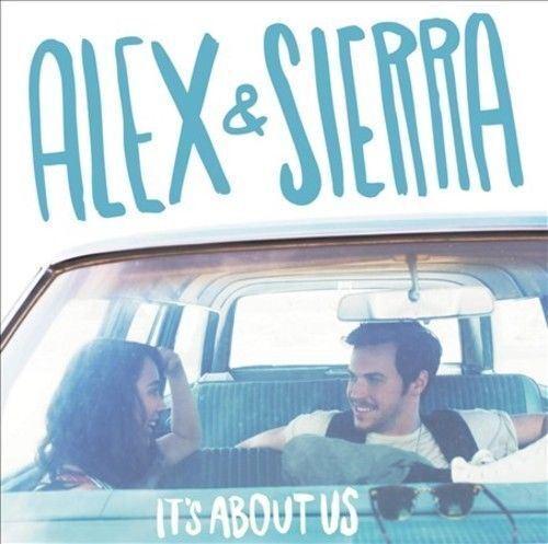 1 of 1 - Alex & Sierra - It's About Us - CD Album Damaged Case