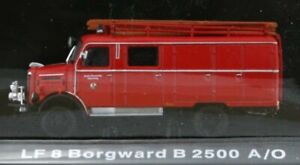 BORGWARD LF 8 / B 2500 A/O - Firetruck - Atlas 1:72