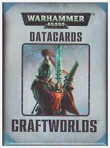 GW-Eldar-Craftworld-Warhammer-40k-7th-Edition-Datacards-Factory-Sealed