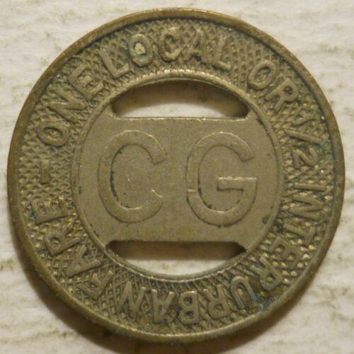 transit token FL130D Florida City of Coral Gables