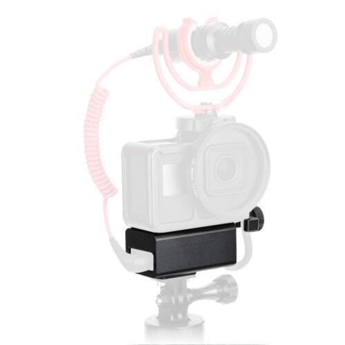 Bgning Vlog micrófono soporte funda protectora shell frame carcasas para GoPro 7 6 5