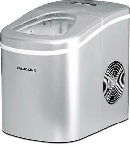 Frigidaire-Countertop-Compact-Ice-Maker-26-Lbs-Silver