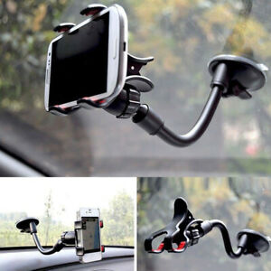 360° Car Windshield Suction Cup Mount Cradle Holder Stand For Mobile Phone GPS