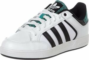 Mens Adidas Varial Low White Trainers