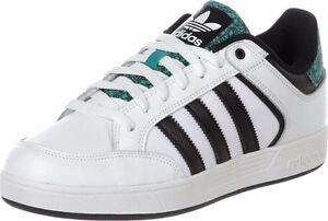 Détails sur Adidas Varial pour homme basse blanc baskets baskets bnib afficher le titre d'origine