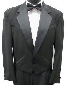 46a4d9b3 Image is loading Black-Sundance-Western-Tuxedo -Jacket-Waistcoat-Formal-Wedding-