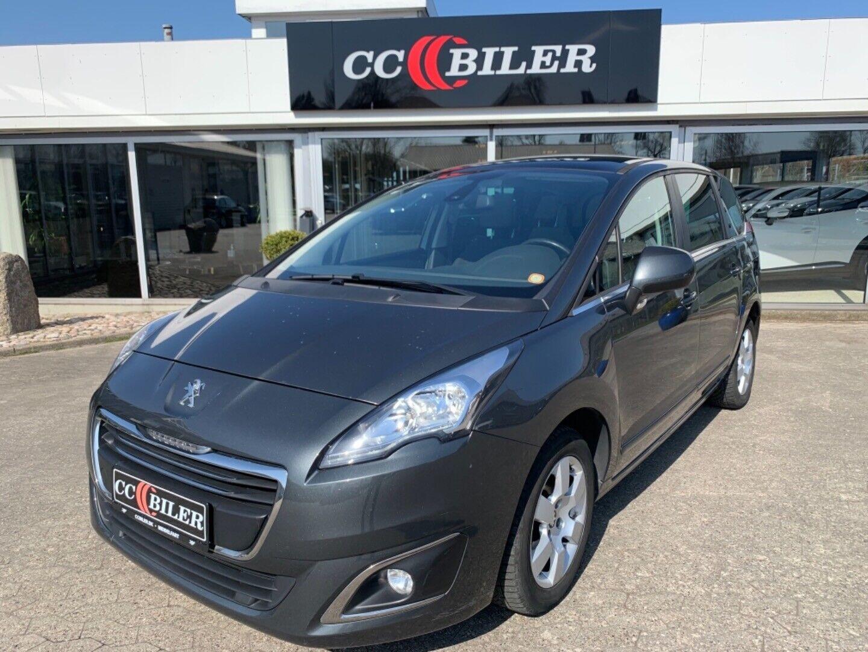 Peugeot 5008 1,6 e-HDi 114 Active ESG 7prs 5d - 149.900 kr.