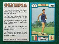 OLYMPIA 1972 n.222 Abdon PAMICH ITALIA MARCIA , Figurina Sticker Panini (NEW)
