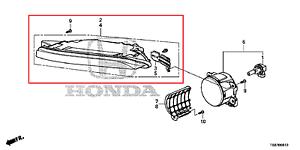 OEM-DRL-Tagfahrlampe-Left-Honda-Civic-Tourer-Year-2013-2014