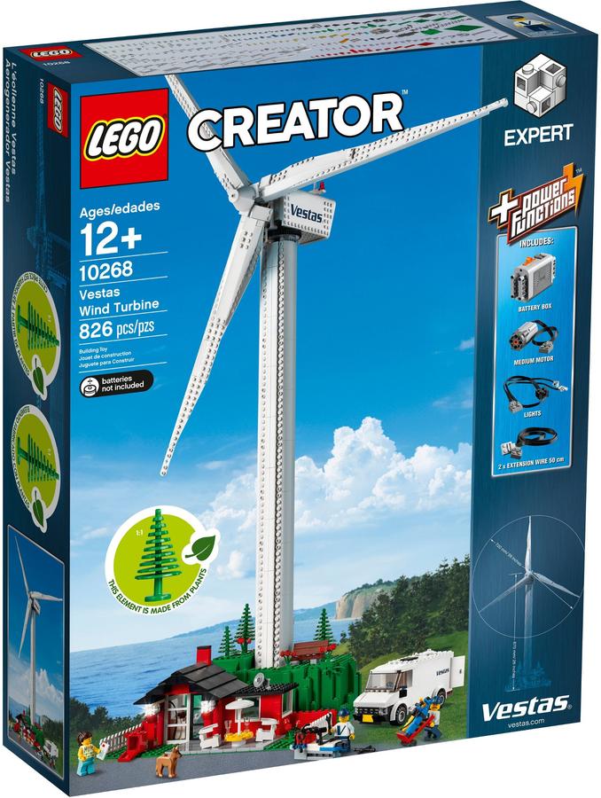 LEGO CREATOR EXPERT 10268 TURBINA EOLICA VESTAS VESTAS VESTAS CON POWER FUNCTIONS  NUOVO c37a62
