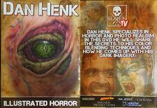 Dan Henk Tutorial in Tattooing Dark Imagery & Color Blending Techniques - DVD